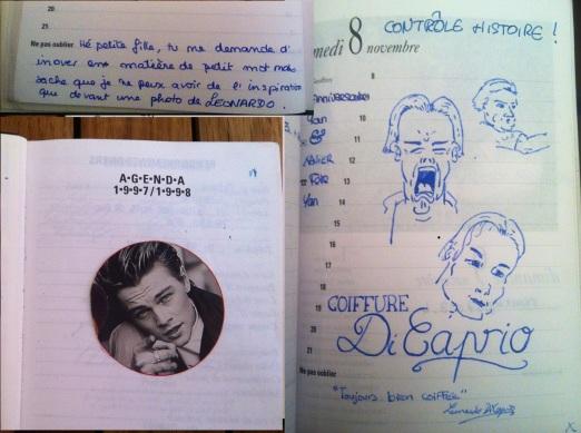 """(featuring l'artwork du """"copain qu'était dans un groupe de rock"""")"""